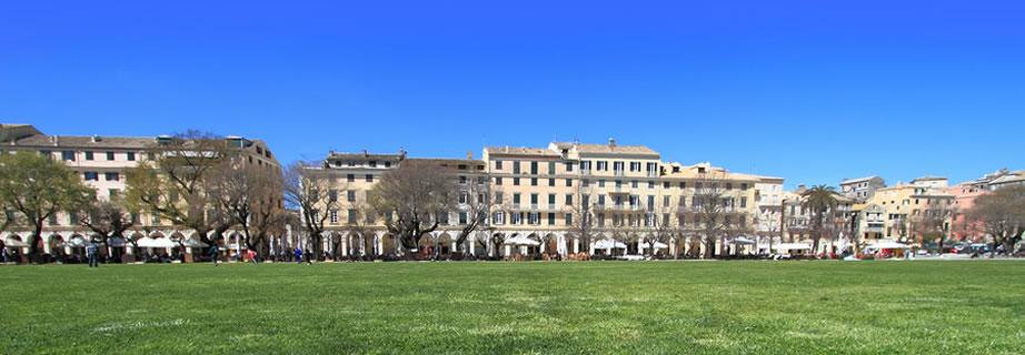 Spianada-Square-Corfu-Town